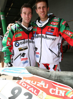Luis Ferreira and Pedro Bianchi Prata