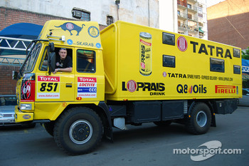 Loprais Tatra Team service vehicle