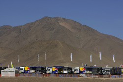 Service park in Copiapo