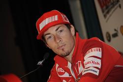Press conference: Nicky Hayden, Ducati