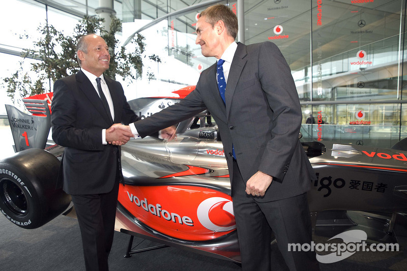 Ron Dennis and Martin Whitmarsh
