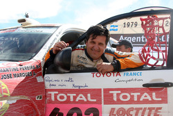 Car category podium: Martine Campos Pereira