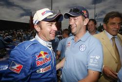Car category podium: winners Giniel De Villiers