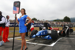 A lovely Samsung grid girl