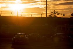 #70 SpeedSource Mazda RX-8: Jonathan Bomarito, Nick Ham, David Haskell, Sylvain Tremblay, #87 Farnbacher Loles Racing Porsche GT3: Wolf Henzler, Leh Keen, Dirk Werner, Richard Westbrook