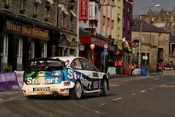 Matthew Wilson and Scott Martin, Ford Focus RS WRC 08, Stobart VK M-Sport Ford Rally Team