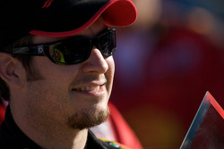 Pole victory lane: pole winner Martin Truex Jr., Earnhardt Ganassi Racing Chevrolet