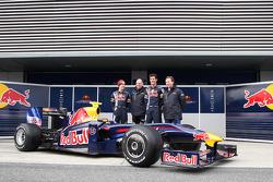 Sebastian Vettel, Red Bull Racing, Adrian Newey, Red Bull Racing, Technical Operations Director, Mark Webber, Red Bull Racing, Christian Horner, Red Bull Racing, Sporting Director