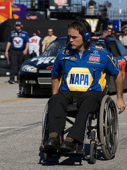 Bootie Barker, crew chief for Michael Waltrip, Michael Waltrip Racing Toyota