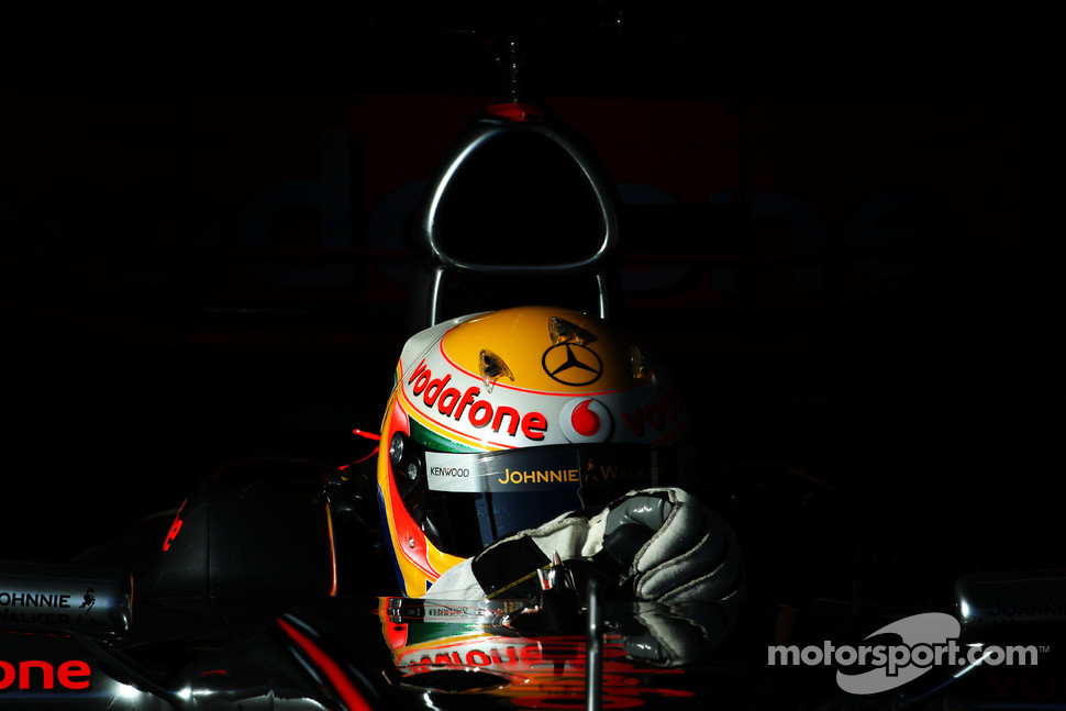 Lewis Hamilton, McLaren Mercedes