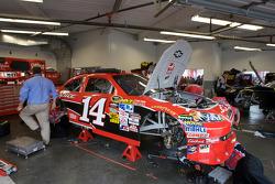 Stewart-Haas Racing Chevrolet garage