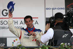 Podium: third place Neel Jani
