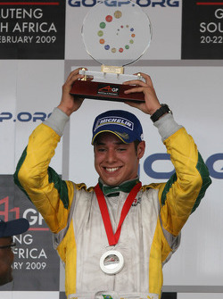 Podium: second place Felipe Guimaraes