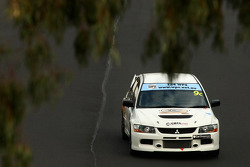 #9 Cerasport, Mitsubishi Lancer Evo X: Charlie Hollings, Nathan Caratti, Colin Corkery
