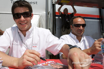 Mike Rockenfeller and Marco Werner