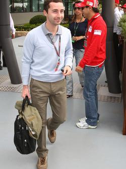 Nicolas Todt and Felipe Massa, Scuderia Ferrari
