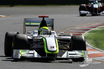 Jenson Button, Brawn GP, BGP001, BGP 001