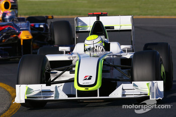 Jenson Button, Brawn GP, Sebastian Vettel, Red Bull Racing