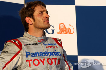 Podium: third place Jarno Trulli, Toyota Racing