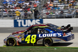 Jimmie Johnson, Hendrick Motorsports Chevrolet, Clint Bowyer, Richard Childress Racing Chevrolet