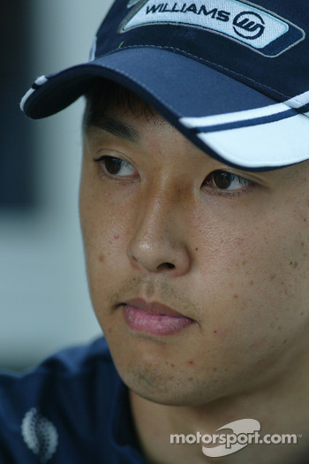 Kazuki Nakajima, Williams
