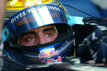 Swiss Toro Rosso driver Sebastien Buemi