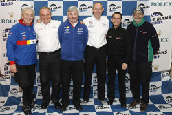 Le Mans Series 2009 LMP1 team managers group photo