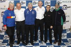 Le Mans Series 2009 LMP1 team managers group photo