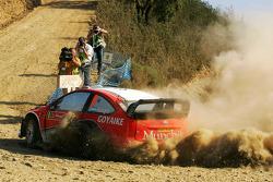 Federico Villagra and Jorge Perez Companc, Ford Focus RS WRC08