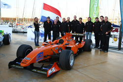 Speed demo in Portimao: A1 Team Netherlands