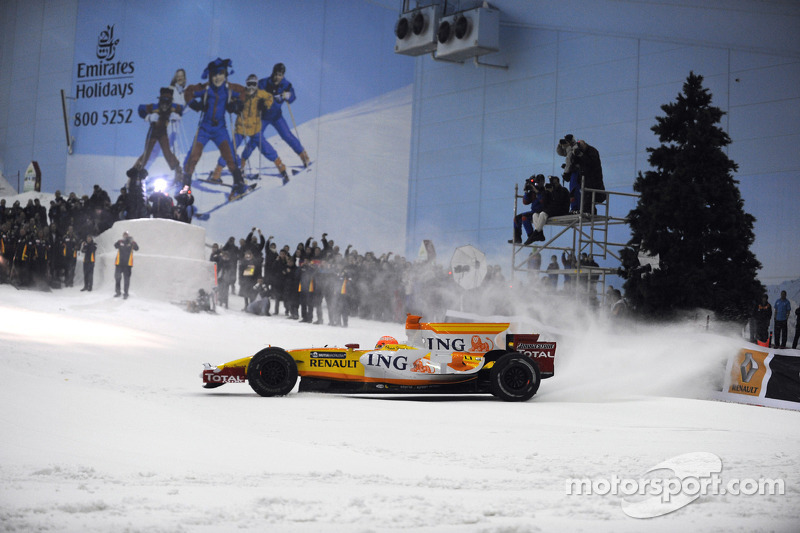 Nelson Piquet in Dubai 2009