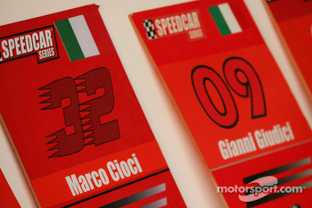 Grid boards for Marco Cioci and Gianni Giudici