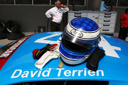 The helmet of David Terrien Durango