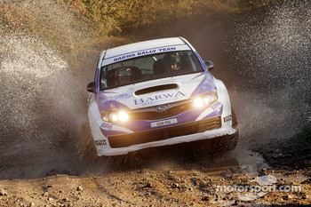 Nasser Al Attiyah and Chris Patterson, Subaru Impreza C07