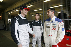 Andrea Belicchi, Nicolas Prost and Neel Jani