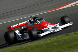 #25 C. D'Ansembourg (B) McLaren M26-4, MEC Auto (formerly driven by James Hunt, 1977-78)