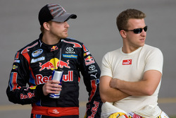 Scott Speed, Red Bull Racing Team Toyota and A.J. Allmendinger, Richard Petty Motorsports Dodge