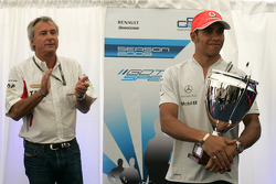 Lewis Hamilton, Mclaren and Jean-Paul Driot, Dams Team Principal