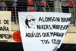 Fans flags