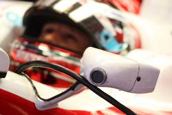 Jarno Trulli, Toyota F1 Team, wing mirror detail