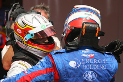 Jerome D'Ambrosio and Edoardo Mortara
