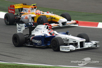 Robert Kubica, BMW Sauber F1 Team, Nelson A. Piquet, Renault F1