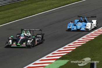 #16 Pescarolo Sport Pescarolo - Judd: Jean-Christophe Boullion, Christophe Tinseau; #38 Pegasus Racing Courage-Oreca LC75 - AER: Julien Schell, Philippe Thirion