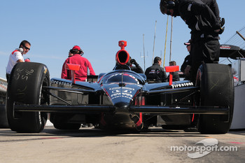 Will Power, Penske Racing has his car sitting in pitlane
