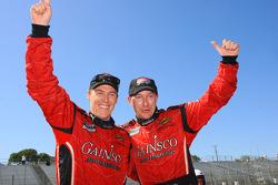 Alex Gurney and Jon Fogarty