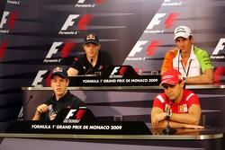 Sebastian Vettel, Red Bull Racing, Sebastien Buemi, Scuderia Toro Rosso, Adrian Sutil, Force India F1 Team, Felipe Massa, Scuderia Ferrari