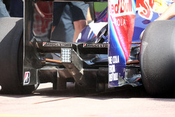 Rear Diffuser on Sebastian Vettel, Red Bull Racing