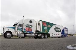 Dale Earnhardt Jr.'s hauler