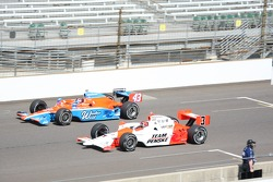Helio Castroneves, Penske Racing and John Andretti, Richard Petty/Dreyer & Reinbold
