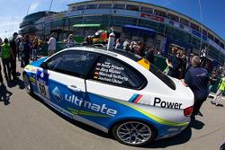 #60 Motorsport Arena Oschersleben BMW M3 GT4 on the starting grid